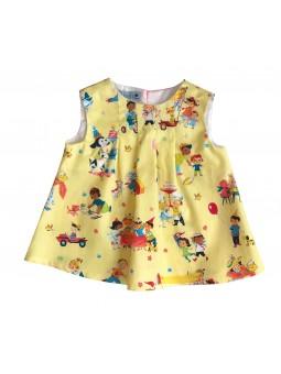 Vintage Pattern Queenie Dress