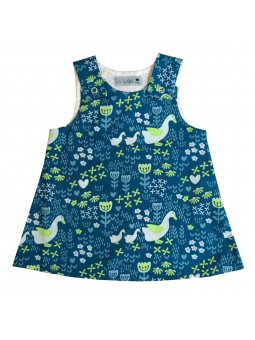 Goose Pattern Nancy Dress