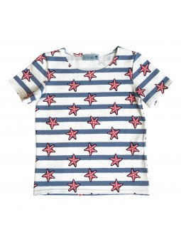 Starfish pattern T-shirt