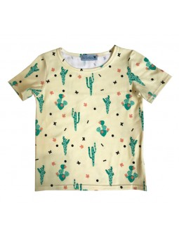 T-shirt Kid motif cactus