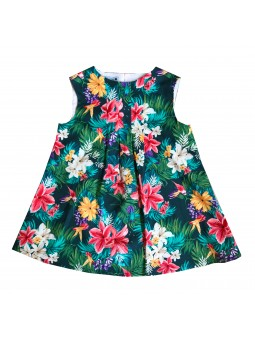 Flower pattern Kid dress