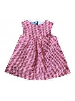 Robe Queenie Kid motif vichy