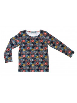 T-Shirt Kid motif fleurs