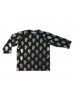 T-shirt Baby motif lion doré