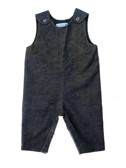 Navy blue corduroy Overall