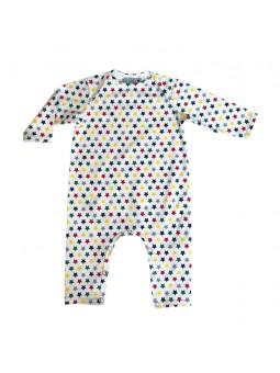 Pyjama Gaspard motif étoile