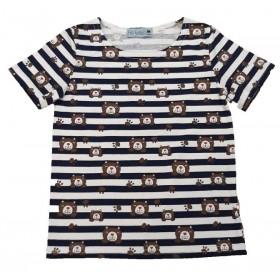 T-Shirt Rayure Marine et...