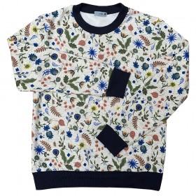 Sweat-shirt  Fleurs Femme