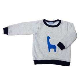 Sweat -Shirt Girafle Bleue
