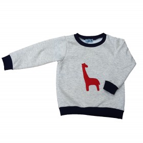 Sweat-Shirt Girafle Rouge